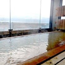 *宿泊者専用【当館最上階「展望風呂」広がる太平洋の景色を望む事が出来ます。