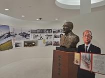 【四季の館】鵡川町出身!ノーベル化学賞受賞の鈴木章氏のギャラリー