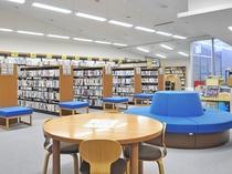 【四季の館】『図書室』 宿泊者は無料でご利用いただけます。