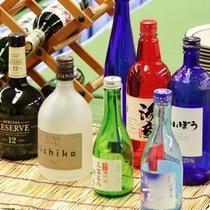 【各種お酒をおいております】スキーで疲れた後の一杯は格別です!地酒もぜひご賞味を