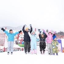 【じゅっきースノーパーク】大森ゲレンデに新しくオープン。お子様が愉しめる雪遊び広場