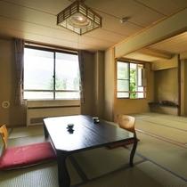 【和室次の間付42㎡・7.5+7.5畳・定員6名】少し広めで次の間付きの使い勝手の良いお部屋