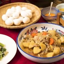【朝食】山形のツヤツヤご飯がすすむ!煮物や山形名物・玉こんにゃくなど、和食メニューも豊富