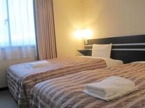 ■客室:ツインルーム20平米・全室サータ社製マットレス仕様