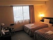 ■客室:デラックスツインルーム23平米・3名様までご宿泊OK