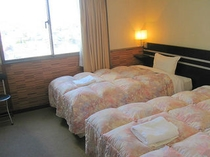 ■客室:ツインルームは20平米