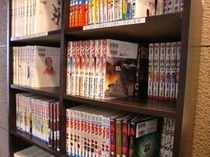 ■サービス:数百冊のをそろえた無料の漫画コーナーも充実!4Fにございます