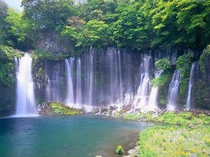 ■観光:白糸の滝へのアクセスもGOOD!