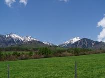 まきば公園からの八ヶ岳(5月中旬)