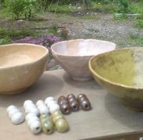陶芸作品の例、友人の工房は親切!価格も評判