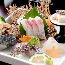 【夕食一例】新鮮な食材を吟味したお料理を召し上がれ♪