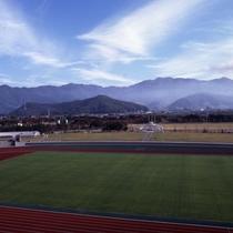 天童市の山形県総合運動公園