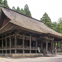 寒河江の慈恩寺