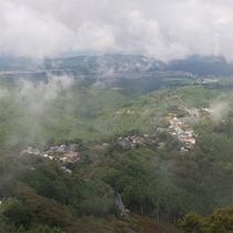 雨の吉野山