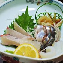 *(夕食一例)ずらりと並ぶ有明海の幸たち!