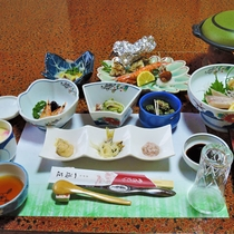 *(夕食一例)天然ものを使うことと手作りがモットーです!
