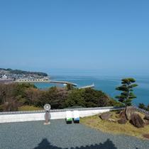 *竹崎城址展望台からの景色