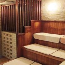 【温泉大浴場サウナ 一例】夜の部(12:00~25:00)のみご利用頂けます。