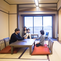 モダン和室(10畳山側禁煙)※全室山側※当館では客室でのお食事提供は行っておりません。