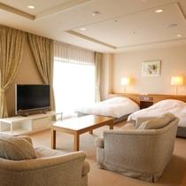 【スイートルーム】70㎡広々した和洋室(8畳の畳付 一例)非日常で特別なひとときを。