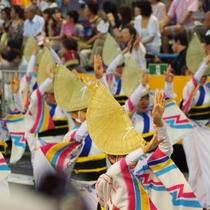 【四国三大祭りの一つ 阿波踊り】徳島県・ホテルよりお車で約40分(道路状況により異なります)