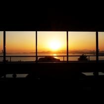 エレベーターフロア前より瀬戸内海の景色をご覧頂けます。