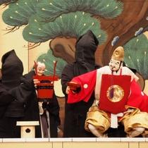 【淡路人形座】淡路島の伝統芸能「淡路人形浄瑠璃」ホテルよりお車で約10分(有料)