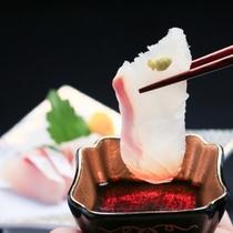 鯛の甘み、はごたえ・・・ぜひ味わってください!