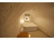 洞窟型客室