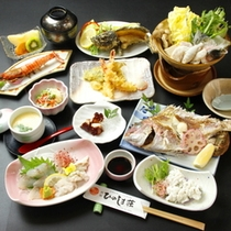 お手軽海鮮コース