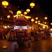 夜の中華街
