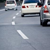 【お車で♪】ルートイン西那須野はお車の駐車場を約200台完備。お車のストレスは全くありません!