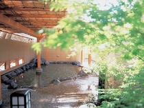 川蝉の湯露天風呂