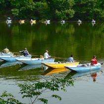 【三名湖】ヘラ鮒釣りのメッカとして関東、全国でも有名です。当館から車で約20分