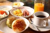 朝食:和洋バイキング