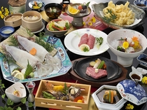 佐賀牛ステーキと活きイカの饗宴(味覚三昧プラン)