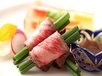 佐賀県産和牛のあぶり焼き