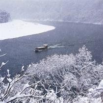 阿賀野川周遊船(冬)