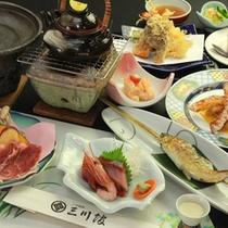 ◇【-tsubaki椿-】プランお食事一例