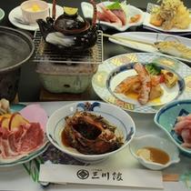 ◇鯉料理プランお食事一例