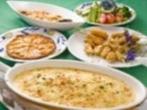 大学生・社会人合宿の料理(イタリアン)