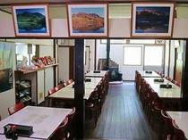 予約制で昼食も利用できる食堂