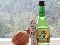 地酒と十津川名物