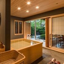 竹の間 庭園露天風呂付き客室