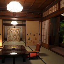 Traditional japanese style 16tatami Deluxe Garden room