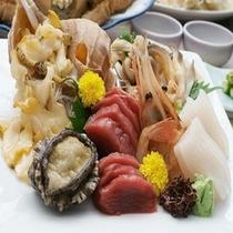 北海道ならでは♪【近海産の新鮮なお刺身盛り】