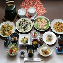 ご宴会料理【和中コースイメージ】
