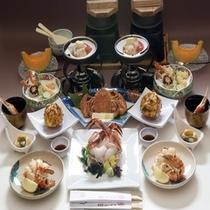 ☆お部屋食☆北海道ならではの新鮮な蟹づくし【蟹づくし会席プランイメージ】