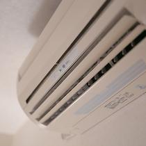【ロイヤルイン川内】客室設備 全室冷暖房完備