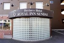 【ロイヤルイン川内】正面玄関